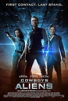 Ver Película Cowboys y Aliens Online poster