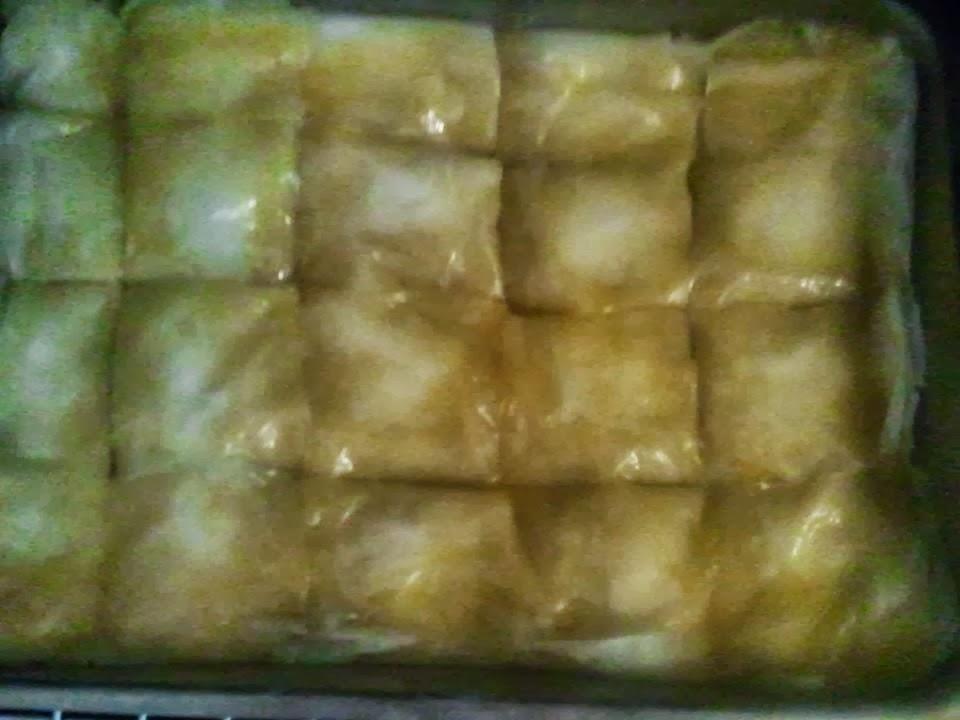 KuzhinaIme.al: Bakllava Turke (Receta e derguar nga Sjorada)