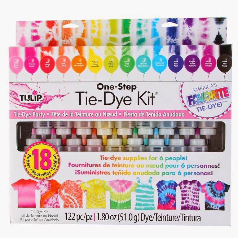 Crafty texas girls tie dye girls night out craft party - Tie and dye colore ...