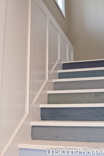Pinklet And C Painted Stairs