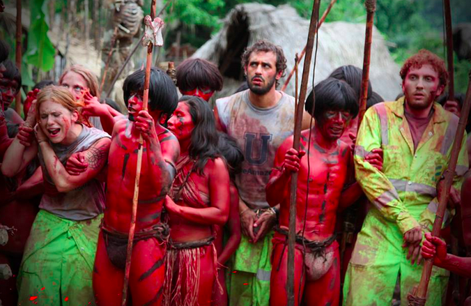 Colonial Carnage A The Green Inferno Review Geoffreview