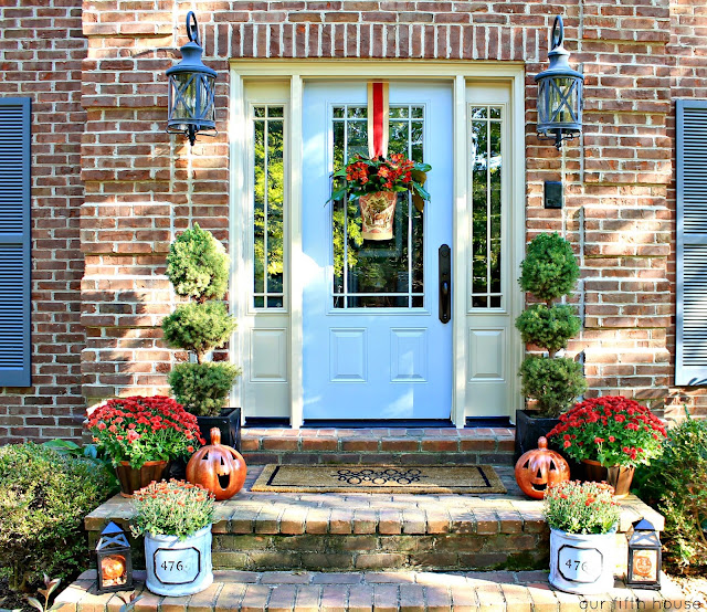 Our Fifth House -Fall Front Entry