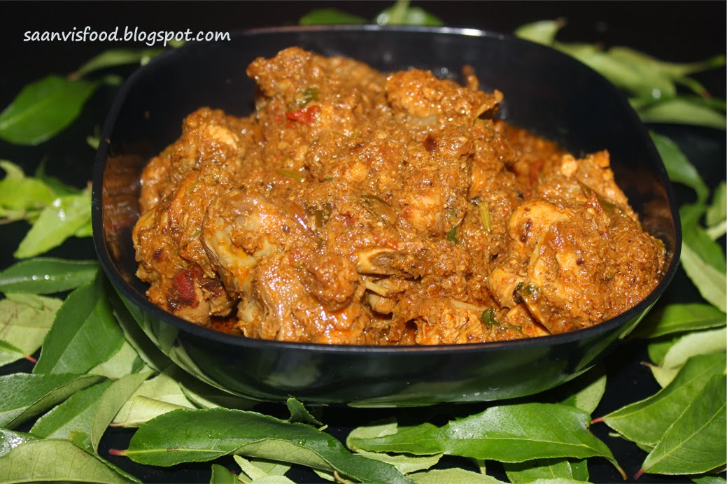 Chettinadu Chicken Curry