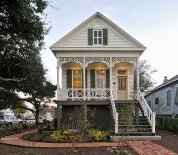 Texas society of architects update galveston 39 s green for Texas cottage