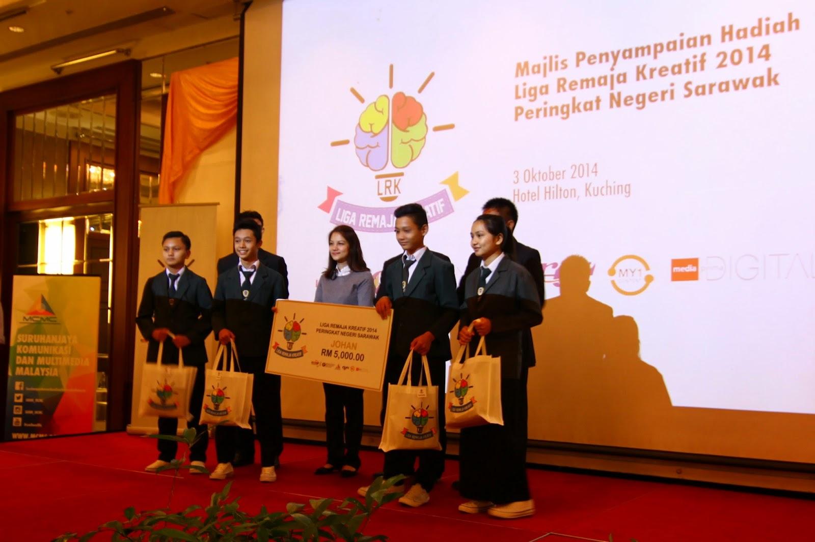 Liga Remaja Kreatif 2014 (Zon Sarawak) SMK Luar Bandar No.1 Sibu