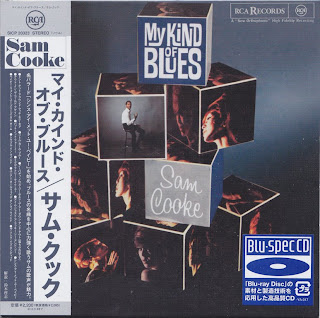 SAM COOKE - MY KIND OF BLUES (RCA VICTOR 1961) Jap Blu-Spec cd cardboard sleeve