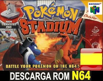 Pokemon Stadium ROMs Nintendo64 Español