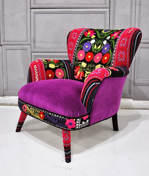 Furniture Colorful Patchwork Armchair Quot Spring
