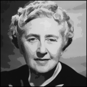 Real name: Agatha Christie Pen name: Mary Westmacott