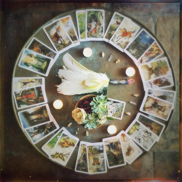 Galia Alena Medicine Wheel,  wheel of the year, 13 Moon Readings, tarot