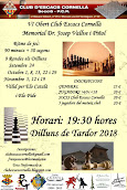 VI Obert Club Escacs Cornellà