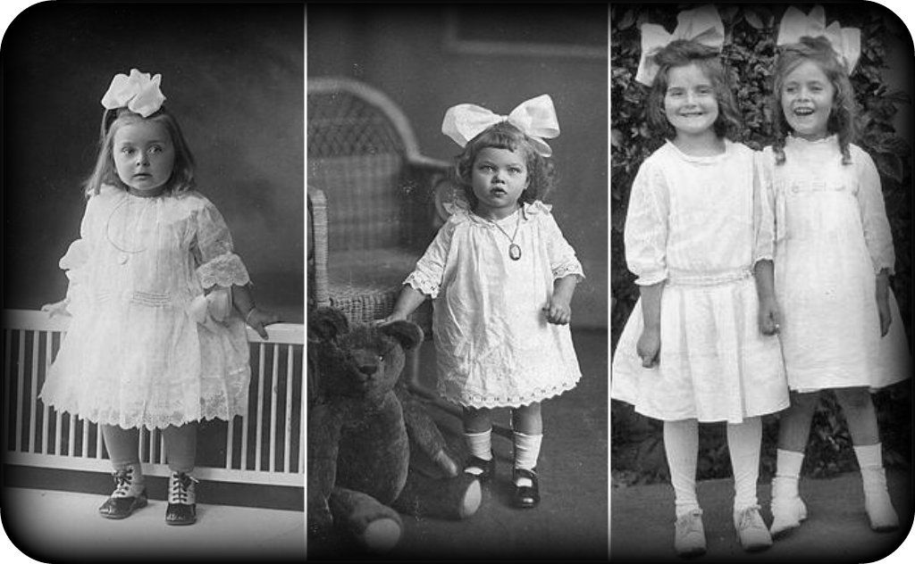 Ever lovely edwardian children and their hairbows