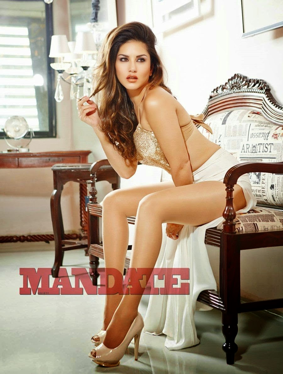 sunny leone mandate magazine photoshoot - cinema65