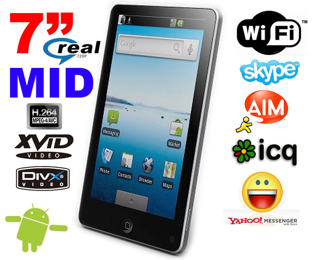MID Tablet PC Price In India ,7 Inch Android 2.3 O.S.