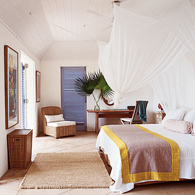 Home christmas decoration canopy bed designs for beach for Beautiful beach bedroom decor