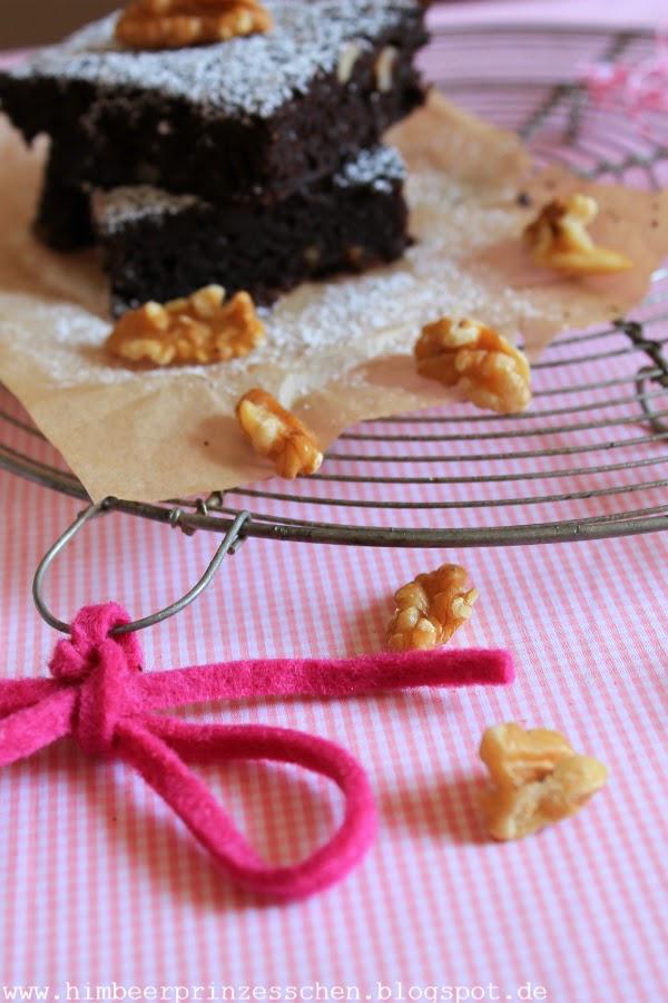 Himbeerprinzesschen Foodblog Himmlisch vegane Desserts Backbuch Vegane Brownies