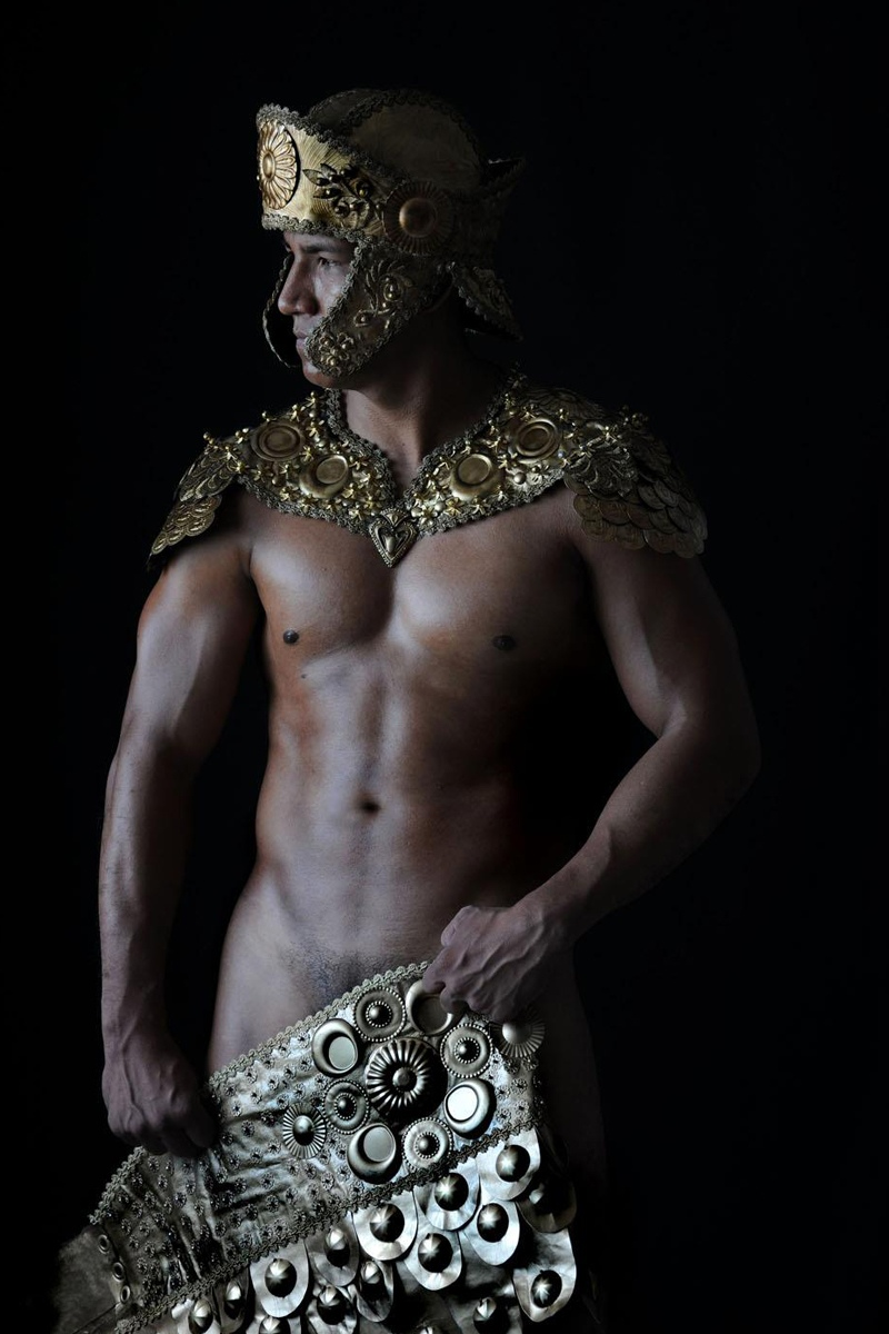 nude gay gladiator calender january