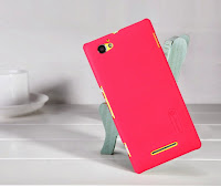 Nillkin Super Frosted Shield Hard Case Sony Xperia M C1905 C2005 - Red