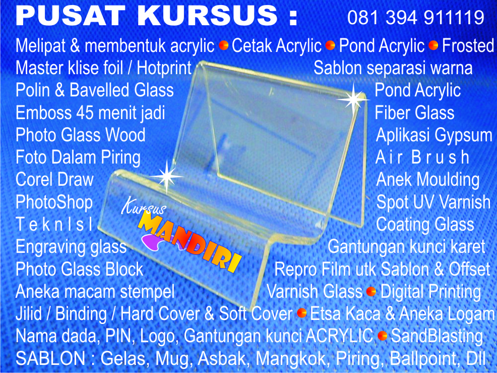 Ramuan Chemical Solvent Ink Banner Umbul Flash