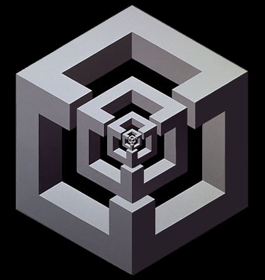 Las piedras hablan pero nadie las escucha delirios - Figuras geometricas imposibles ...