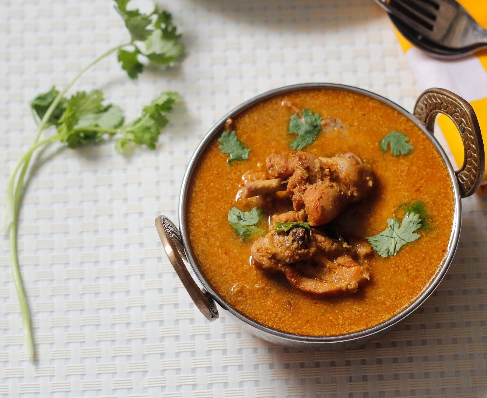 Learning to cook chicken kuzhambu step by step simple chicken kozhi kuzhambu ccuart Images