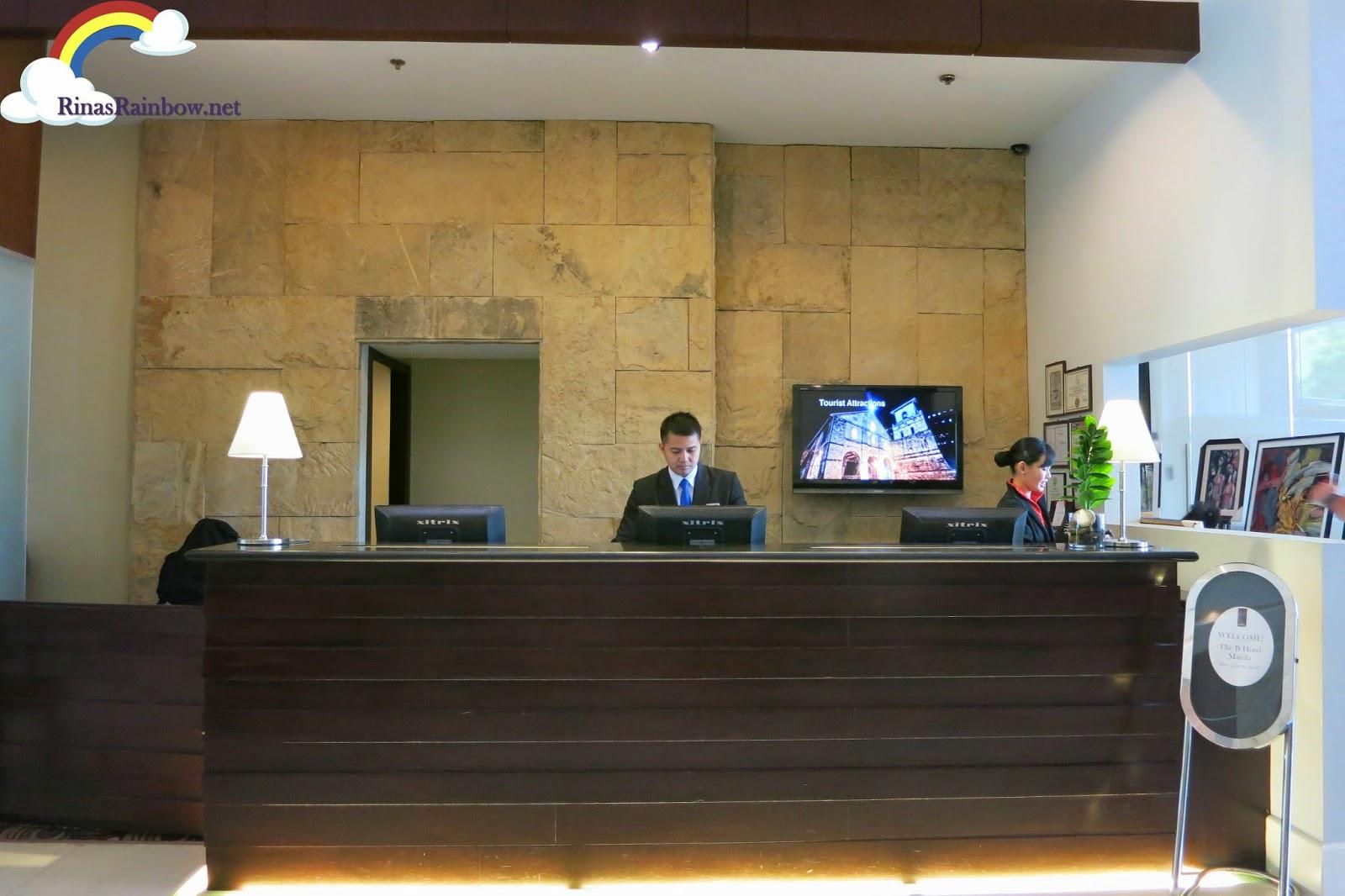 reception b hotel