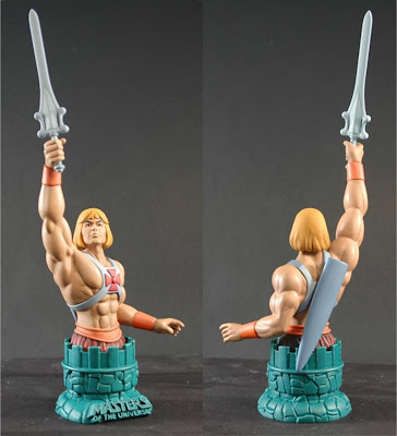 He-Man Masters of the Universe Filmation Mini Bust Paperweight