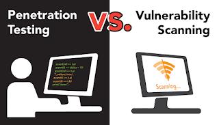Pentesting vs Vulnerability Scanning