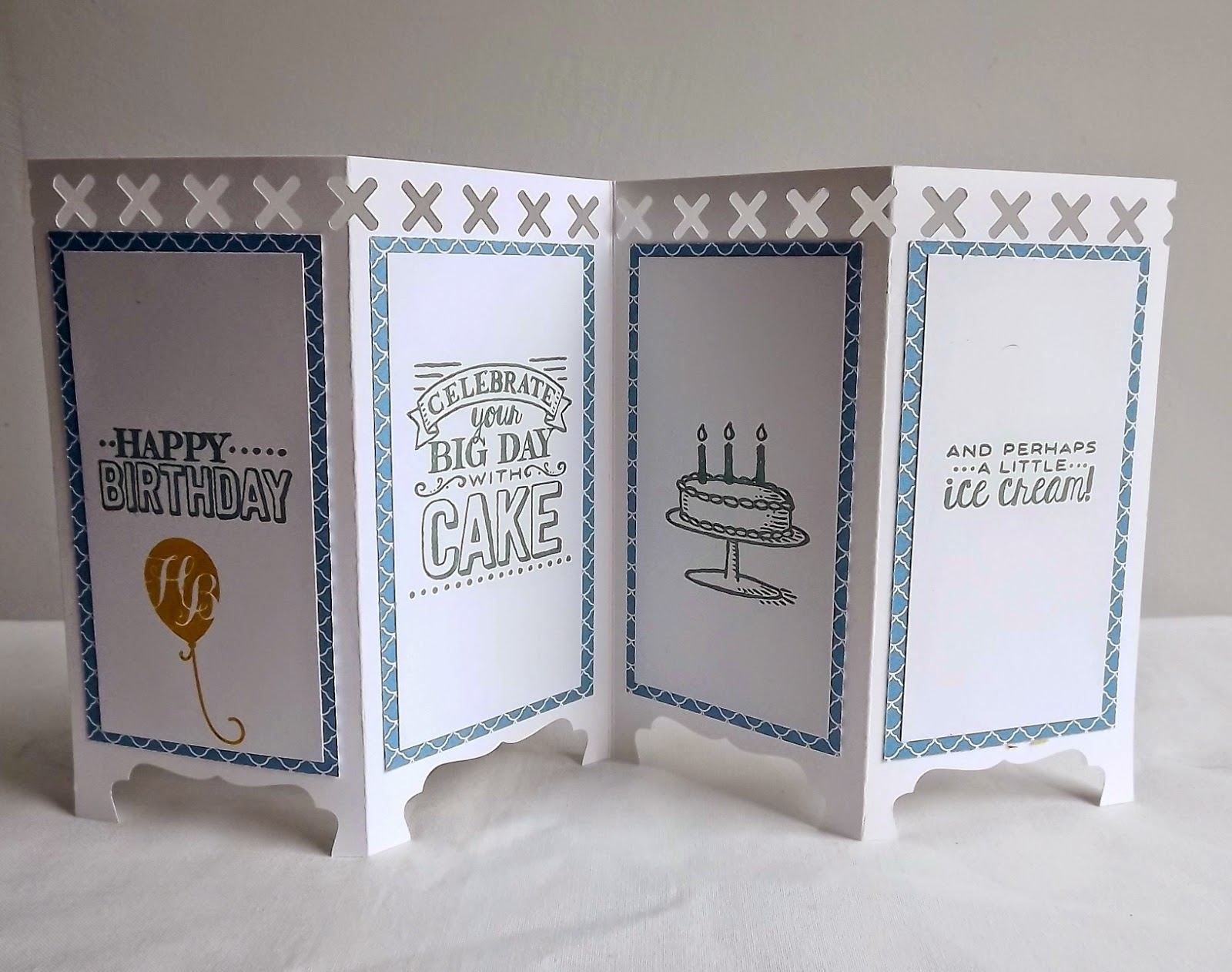 Stampin Up! panel card