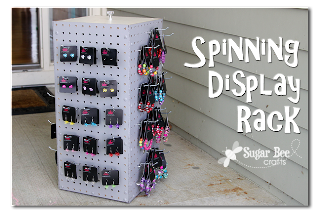 spinning display rack sugar bee crafts. Black Bedroom Furniture Sets. Home Design Ideas