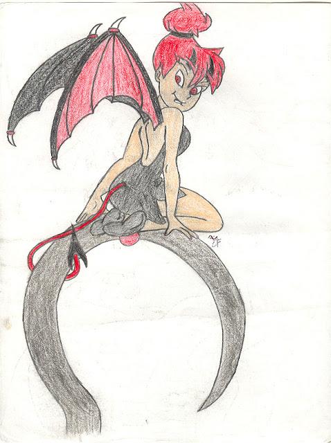 Evil Tinker Bell por Ookamisama1