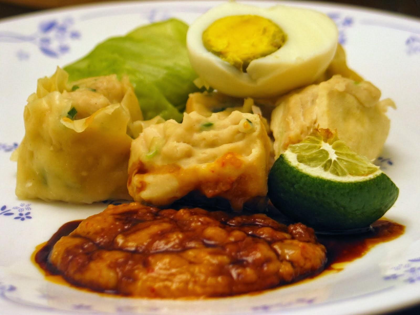 Resep Siomay Bandung bumbu kacang enak | Aneka Resep