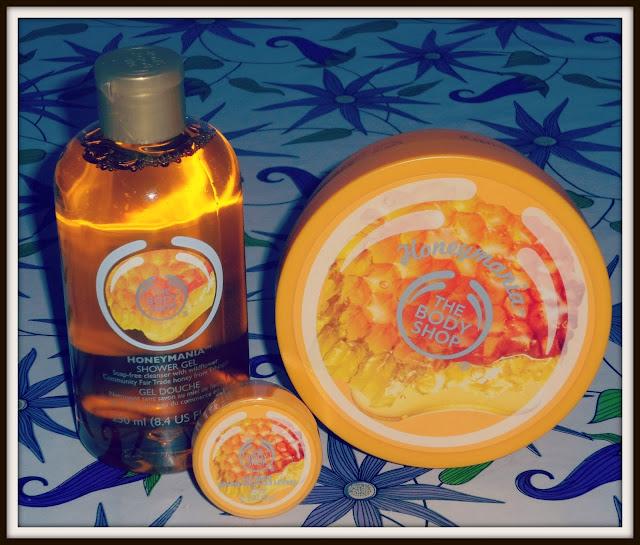 honey mania la nuova linea di prodotti al miele firmati da the body shop.