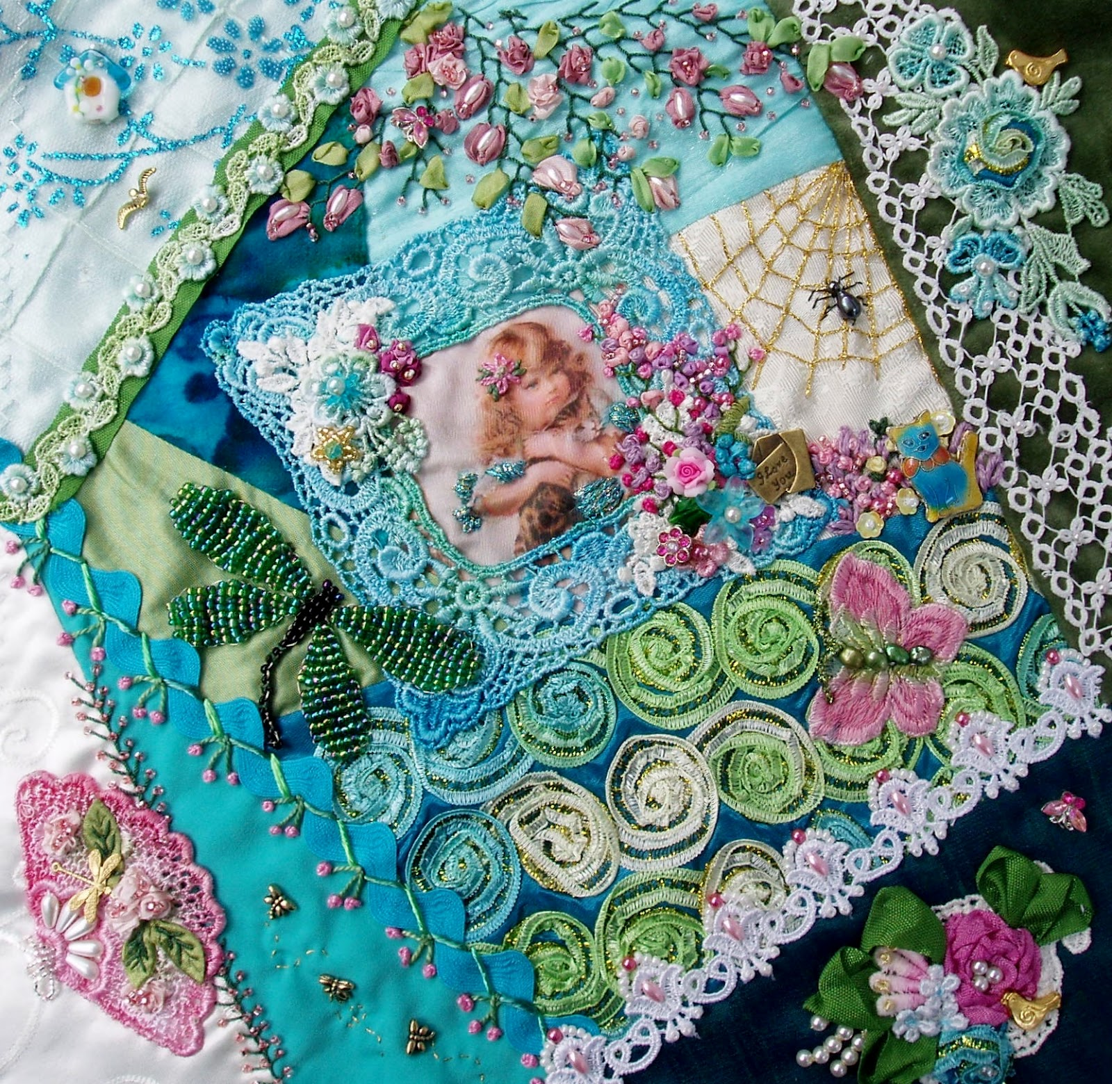 There's A Crazy Quilt Show Going On & Online Cq Classes Available!
