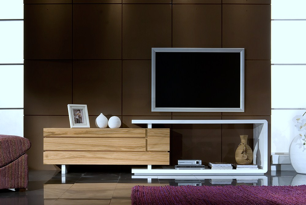ROSE WOOD FURNITURE Wall Units For Living Room