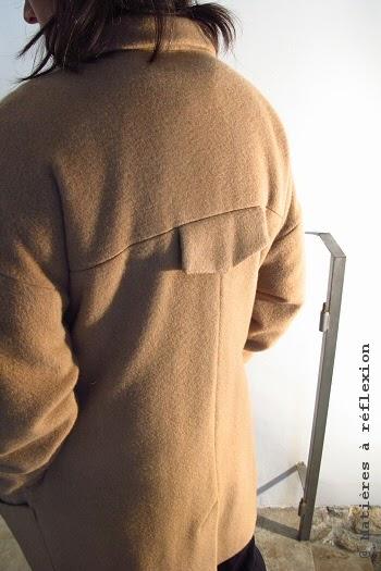 Soldes manteau laine et cachemire Karine Jean