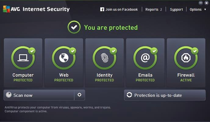 Download AVG Internet Security 2015