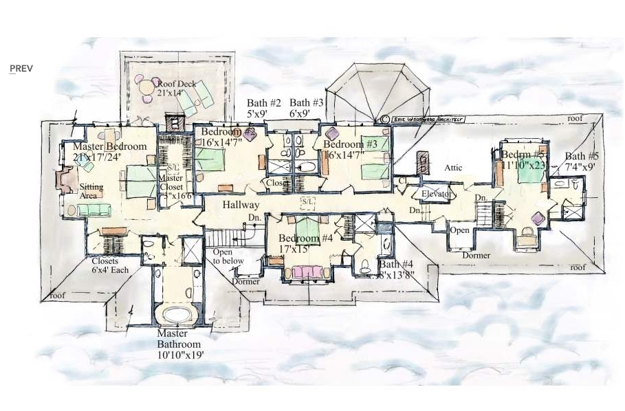 Mansion floor plans Estate home floor plans