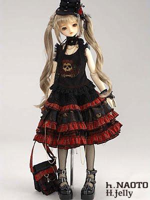 vestimenta dollfie