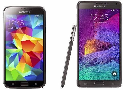 harga hp spesifikasi Samsung Galaxy Note 4