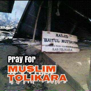 Pembakar Masjid Tolikara Ditembak Polisi, Begini Kronologinya