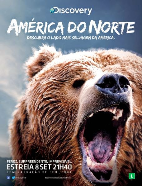 Discovery Channel: América do Norte S01E02 HDTV 720p MKV Dublado