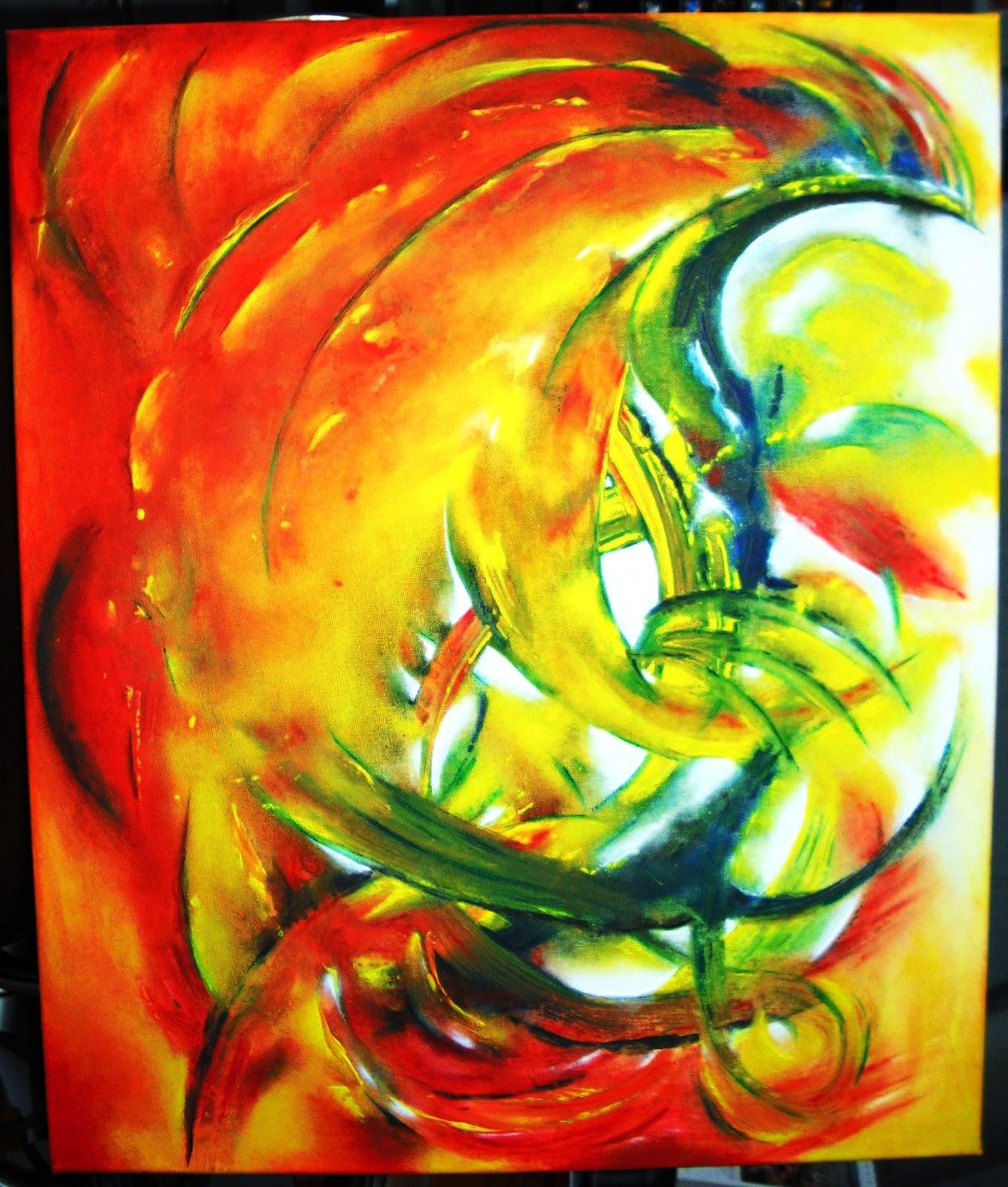 Ecriture et peinture oser c 39 est vivre couleurs chaudes - Peinture couleurs chaudes ...