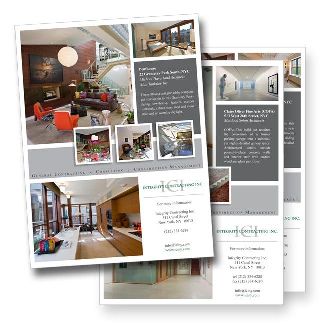 bryson design studio: 14 page portfolio for nyc architecture firm