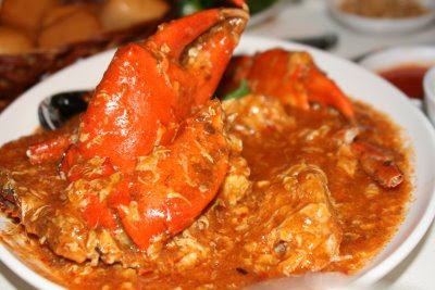 Tales of a Babbling Spoon: Singapore Chilli Prawn