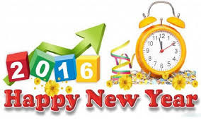 New Year 2016 Greetings for Facebook