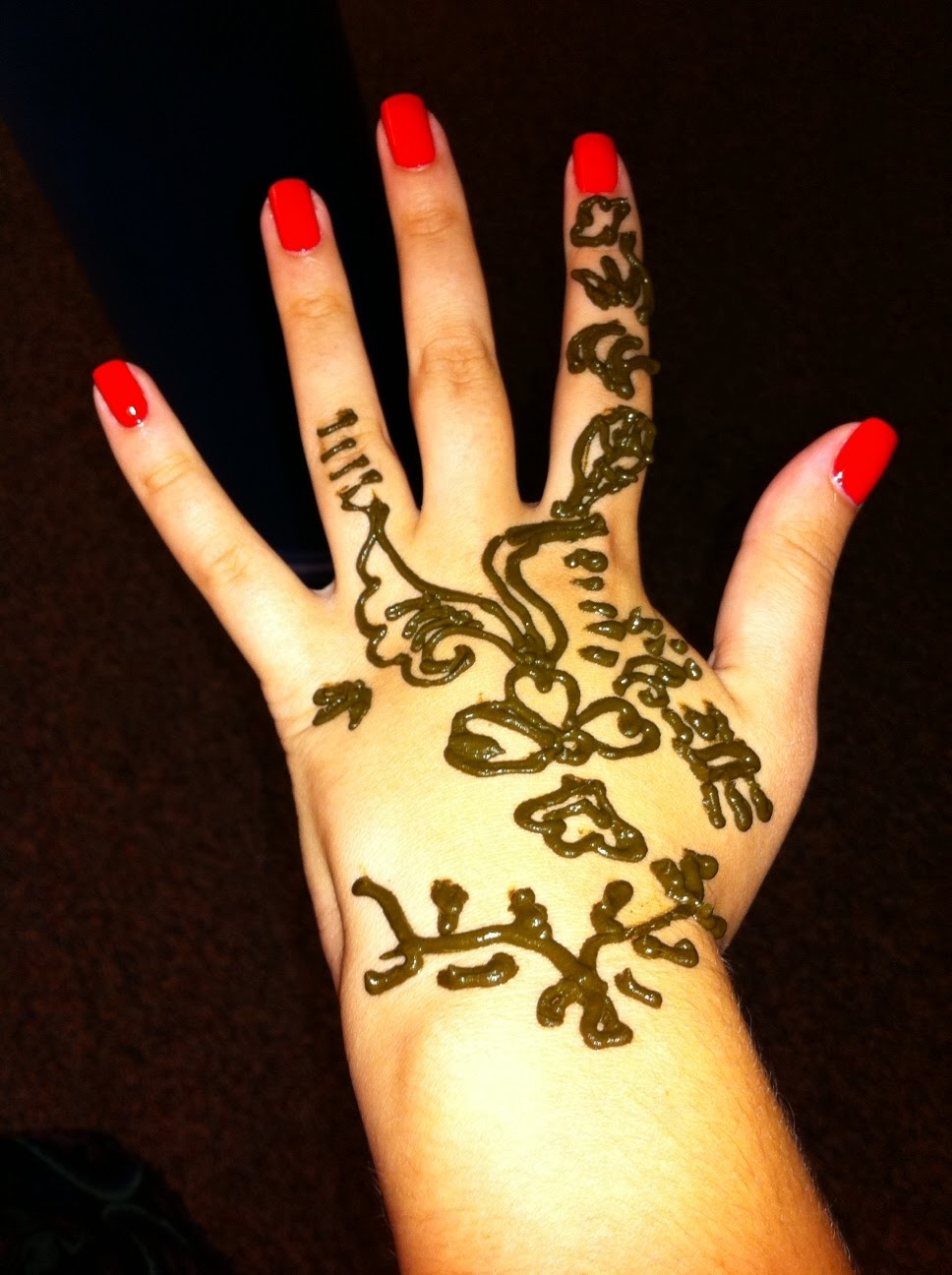 Teen Amp Young Adult Zone Henna At The Library