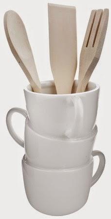 Bote utensilios de cocina incluidos