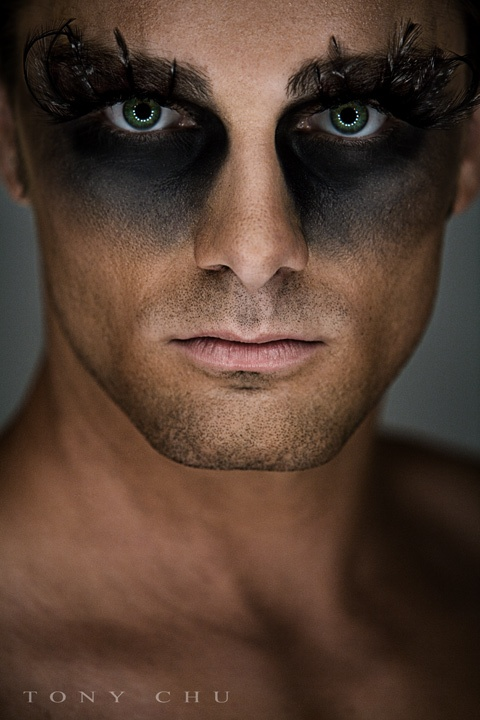 Oh by the way: BEAUTY: Men In Make Up - Mens Halloween Makeup
