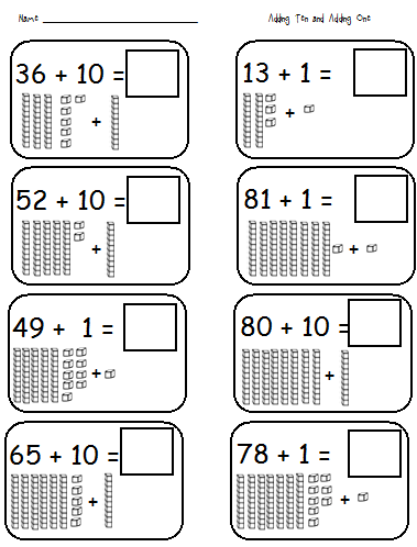 Place Value Worksheets place value worksheets for 1st graders : Number Names Worksheets : tens and ones worksheets first grade ...